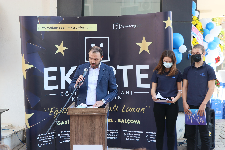 AK Parti İzmir Milletvekili Çankırı, Menderes'te kurs binası açtı