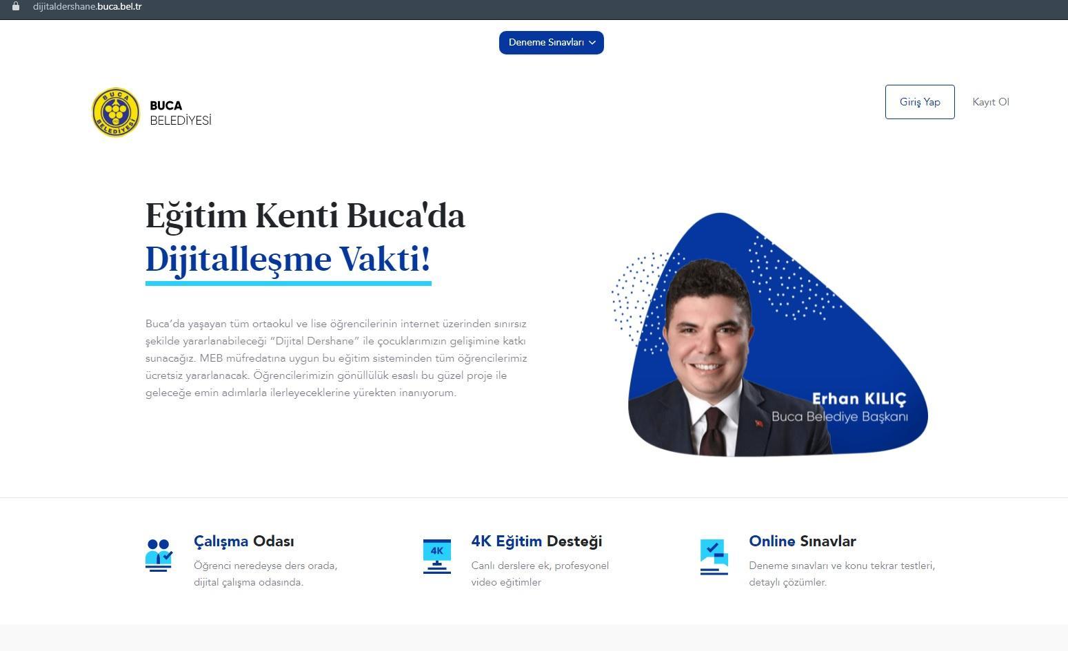 Buca Belediyesi Dijital Dershane (1)