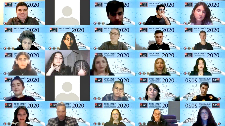 Buca'da IMSEF Bilim ve Sanat Fuarı heyecanı