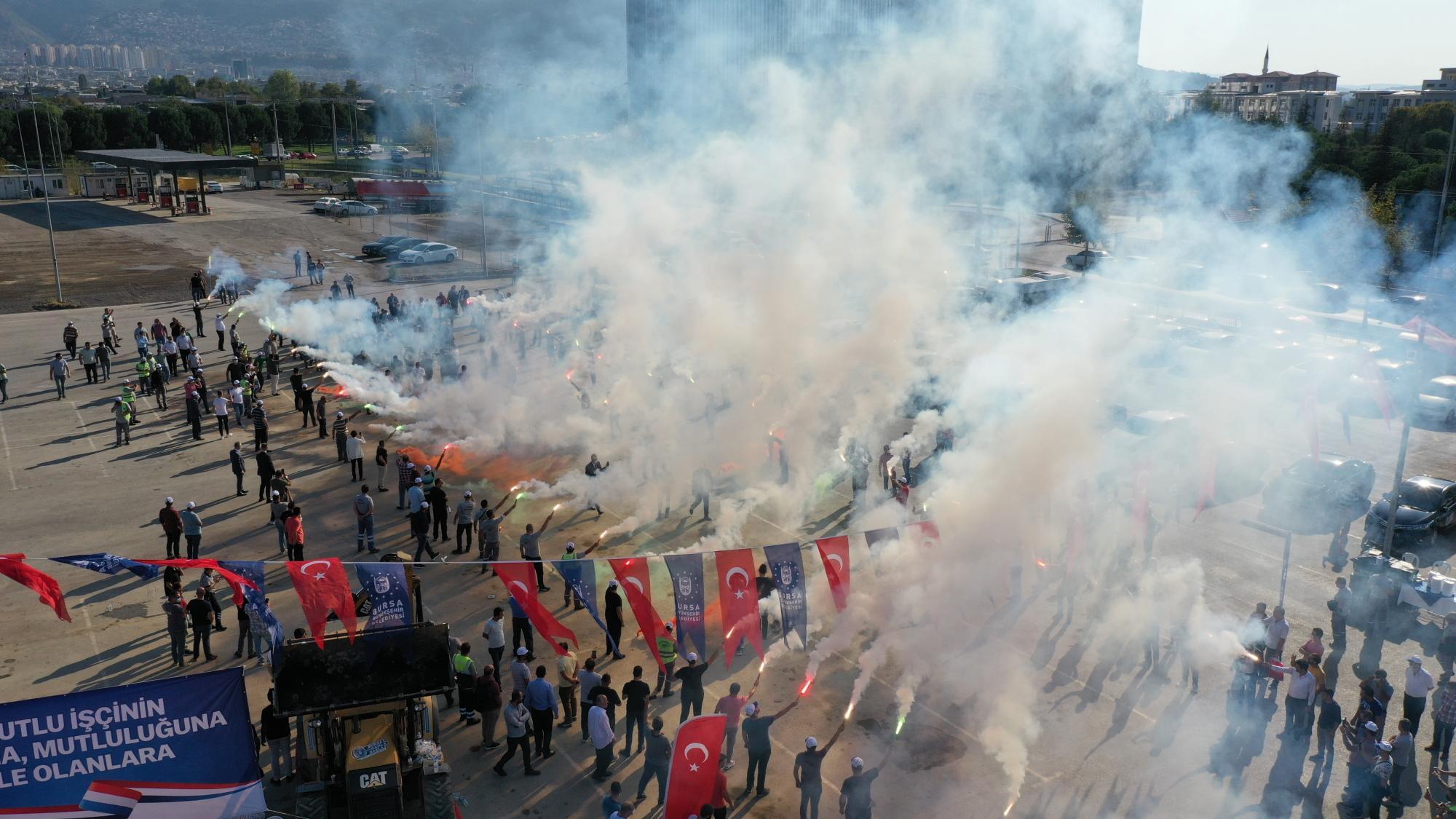 Bursa Büyükşehir'de Toplu Sözleşme Sevinci