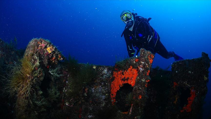 Çanakkale Savaşları'nın su altında kalan izleri dalış turizmine açılıyor--