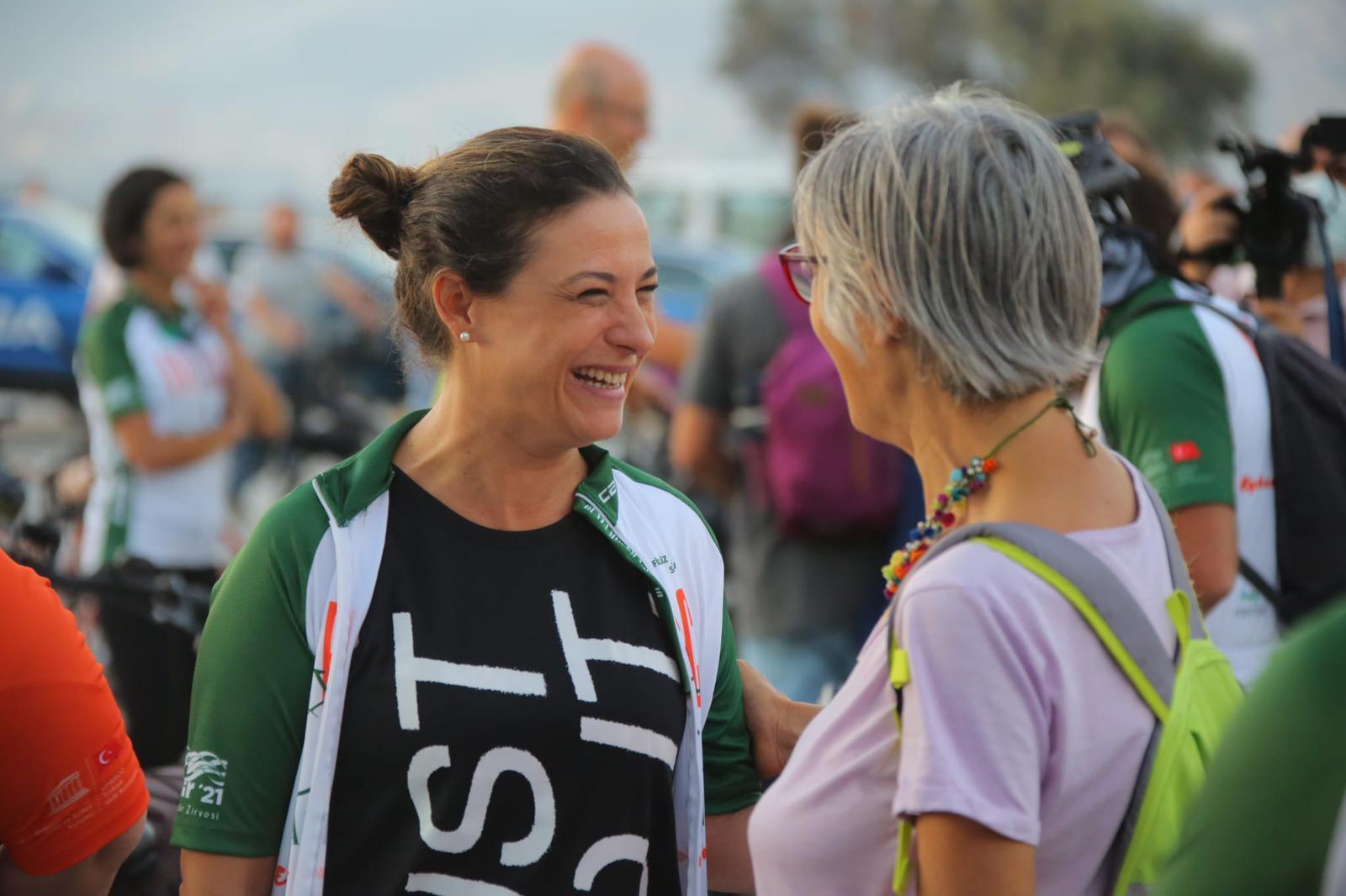 Dünya Mirasları Birleşiyor, Pedallar Ağaca Dönüşüyor