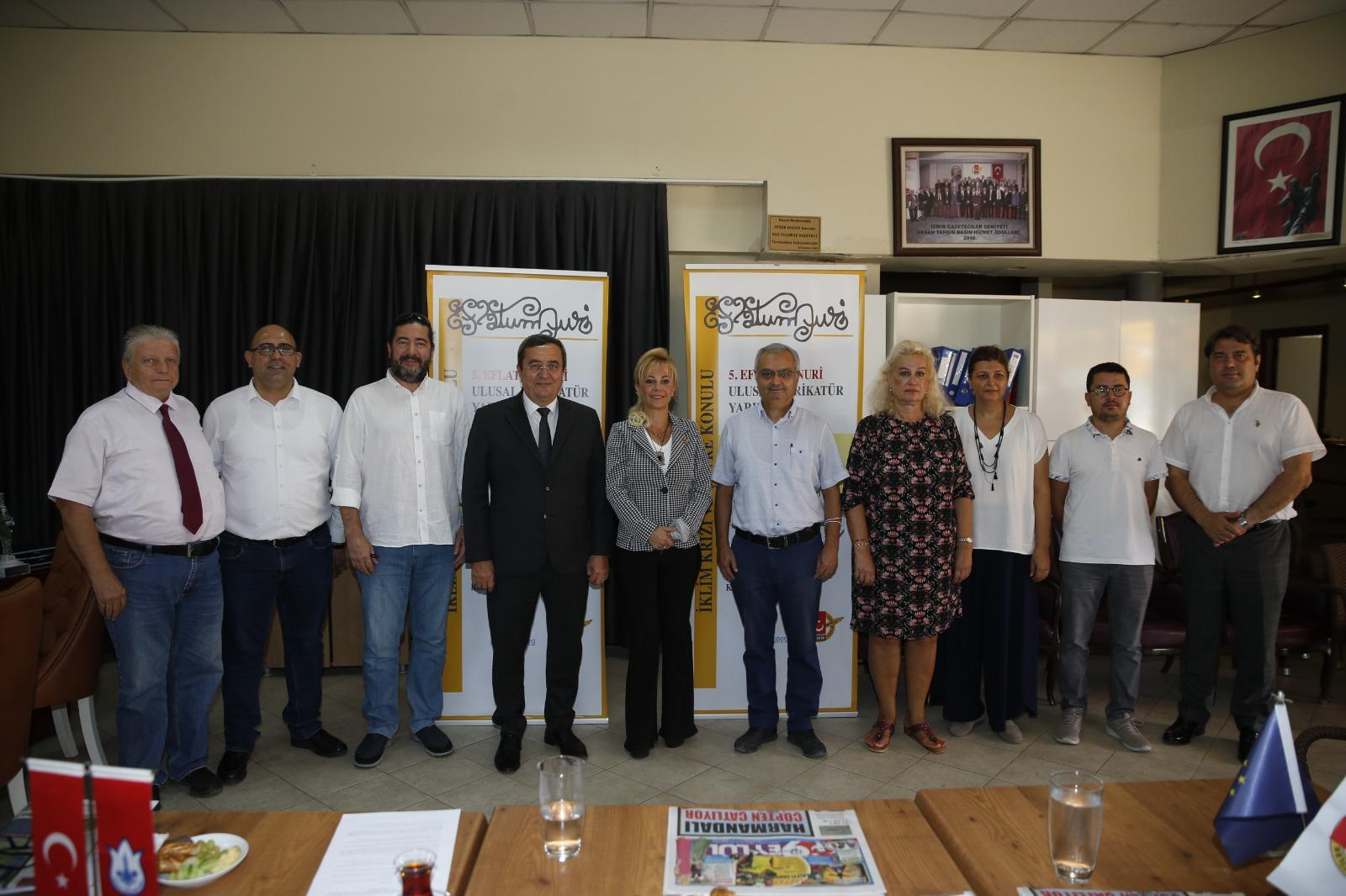 Eflatun Nuri Ulusal Karikatür Yarışması Basın Toplantısı (5)