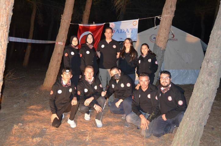 Genç gönüllüler afetlere hazırlandı-gazete-yenigun