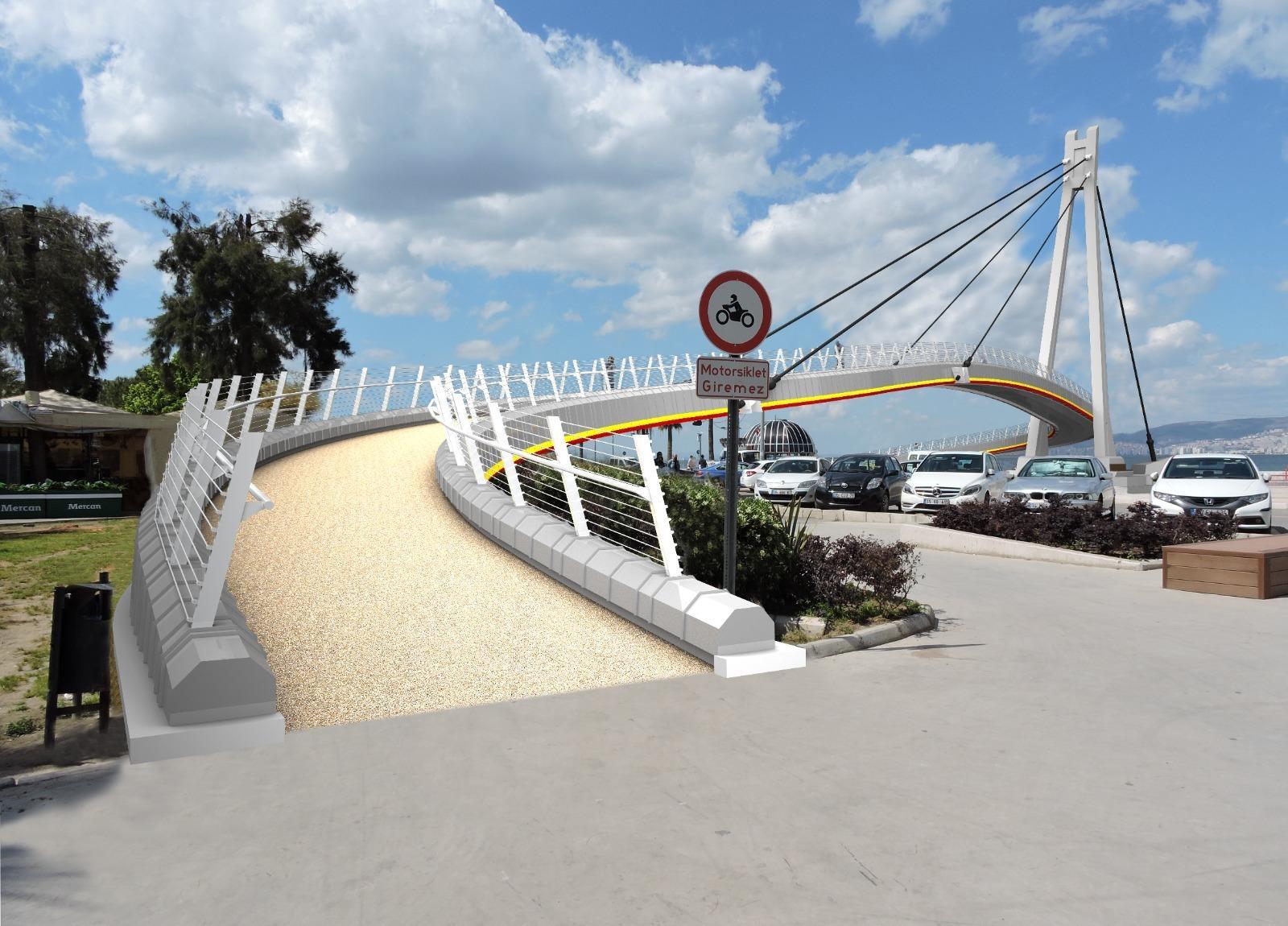Göztepe Şehit Kerem Oğuz Erbay Köprüsü yenileniyor-yenigun gazete