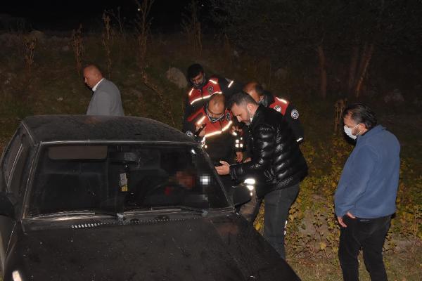 Havaya ateş açıp polisten kaçtı, kaza yapıp öldü-yenigun