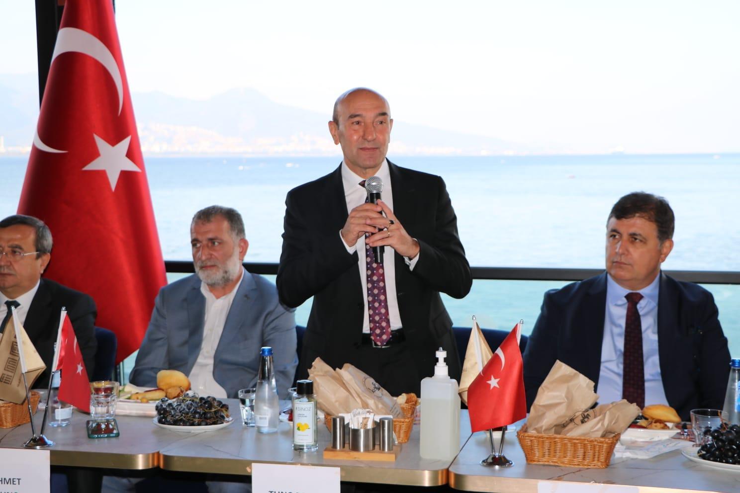 İMAF İzmirli başkanlarla bir araya geldi-yenigun