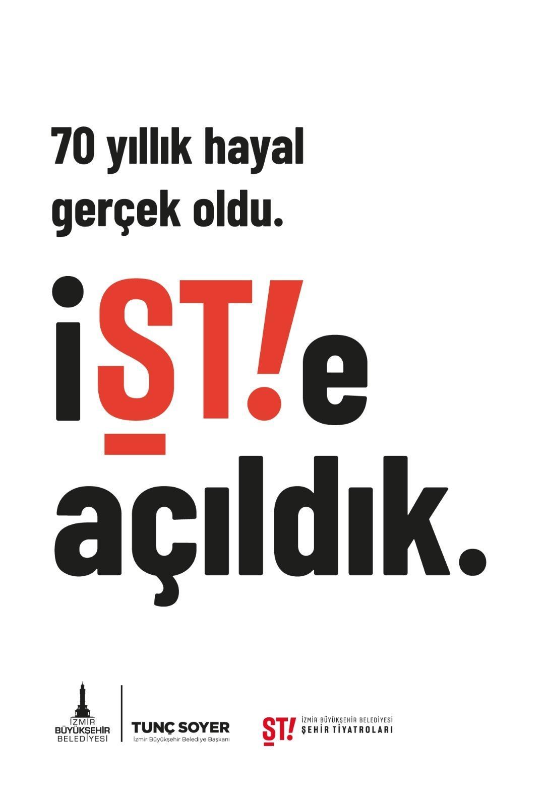 İzmir Şehir Tiyatroları 70 yıl sonra perde açıyor-yenigun