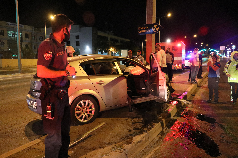 izmirde trafik kazası-yenigun