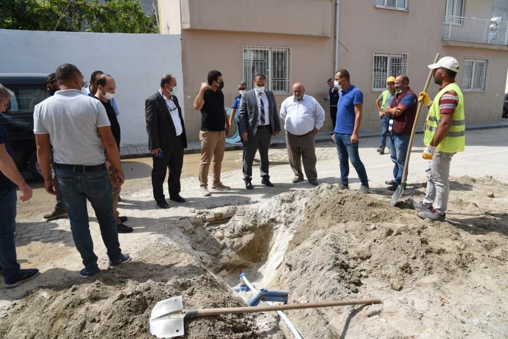 MASKİ Genel Müdürü Aslay, Saruhan çalışmalarını gözlemledi-1-gazete-yenigun