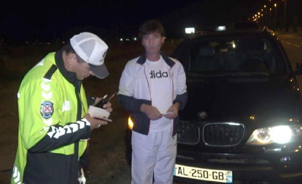 Polisten kaçan sürücü alkollü çıktı, ehliyetine el koyuldu-yenigun