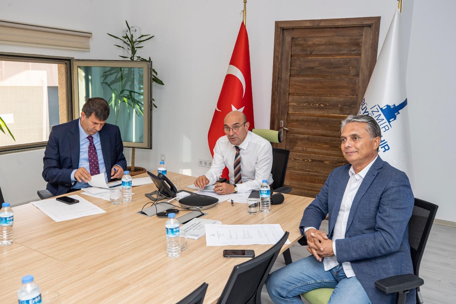 SODEMSEN'in yönetim kurulu toplantısı İzmir'de