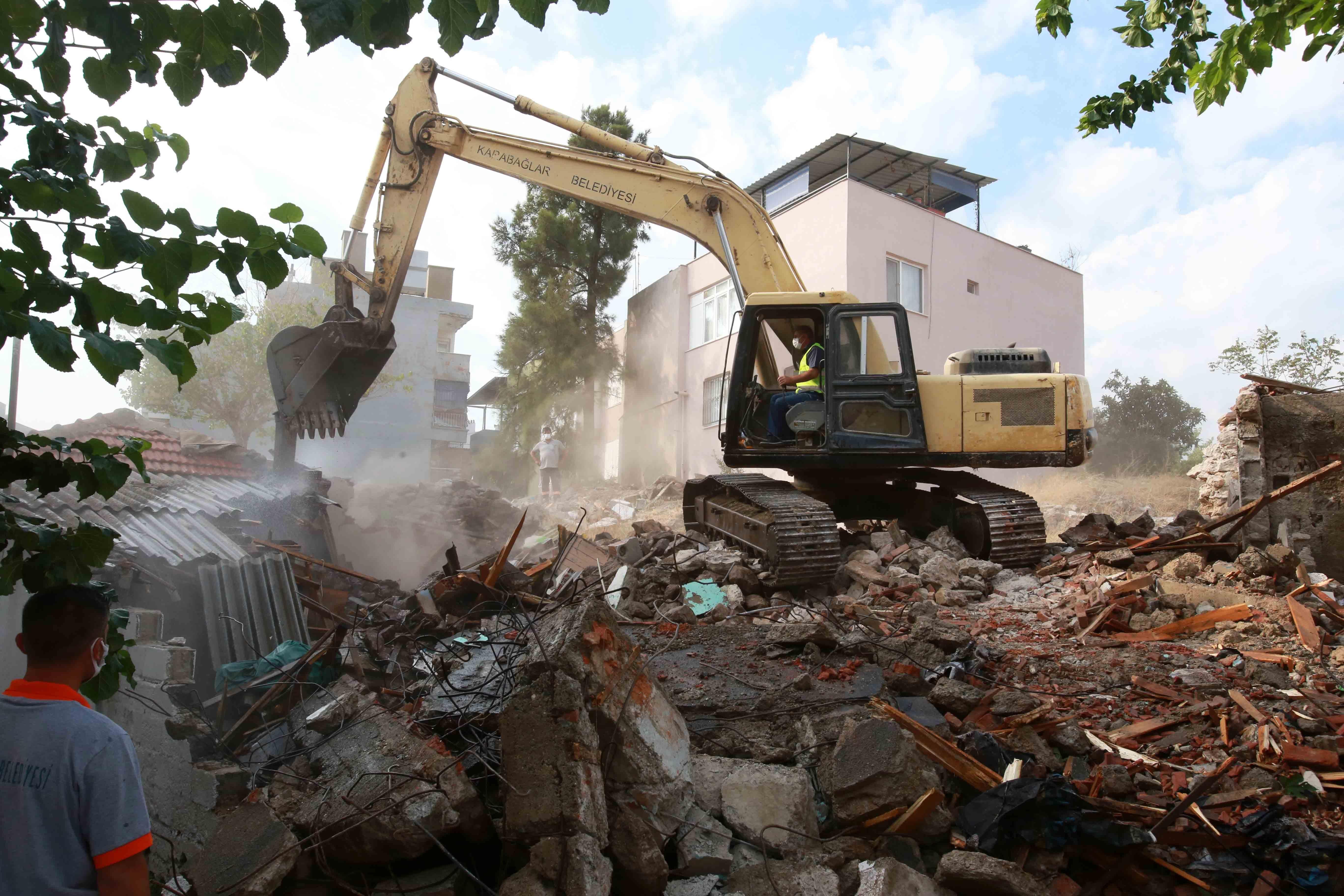 tahsin yazıcı mahallesi yıkım (6)