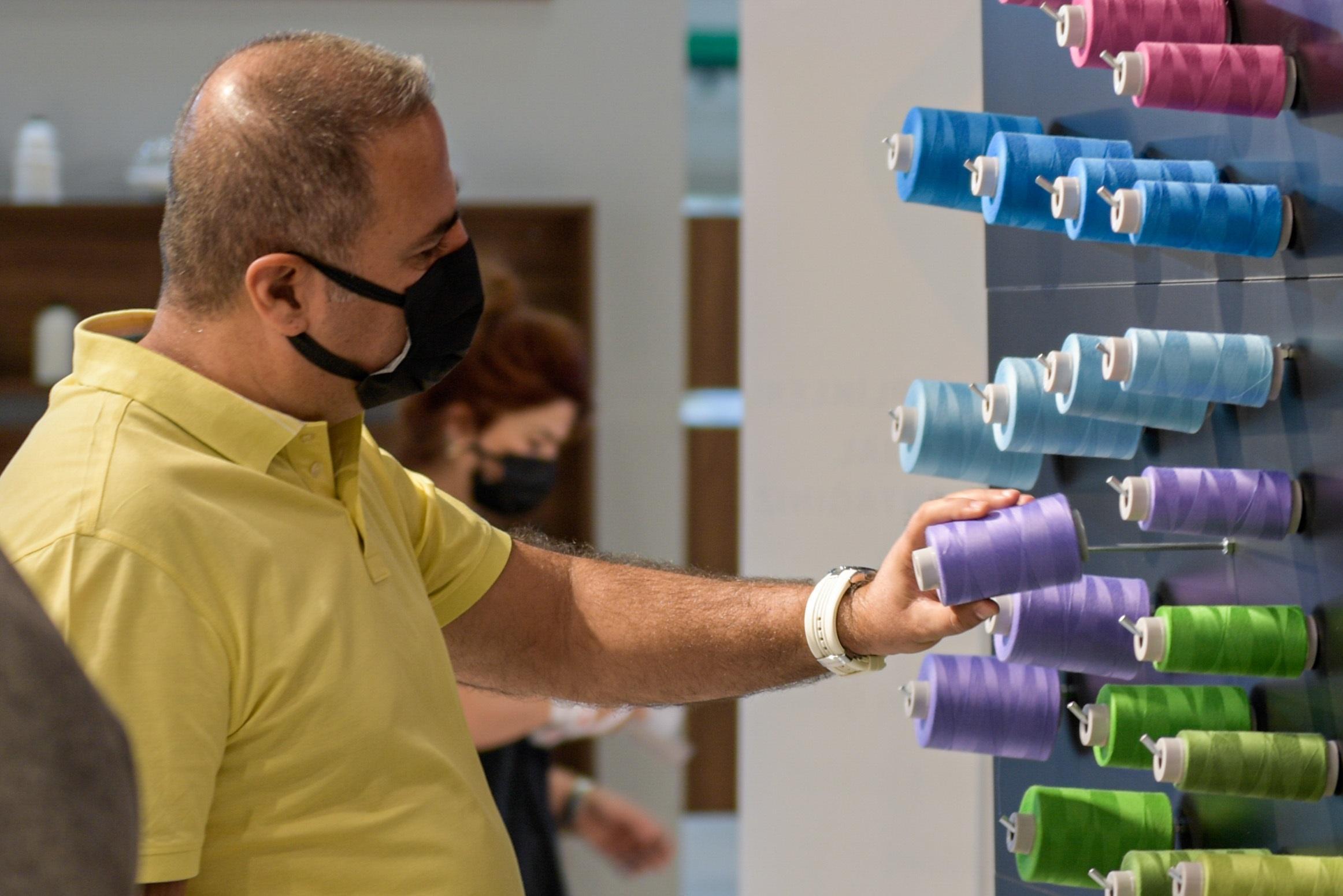 Tekstil sektörünün başarısı, İzmir'den dünyaya yayıldı-yenigun