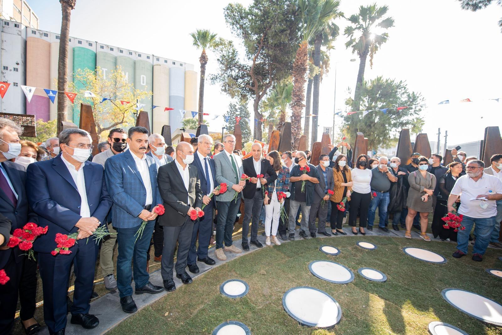 10 Ekim Anıtı ve Anma Yeri törenle açıldı-yenigun gaz etesi