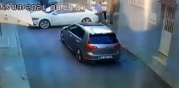cinayet anı kamerada-gazete yenigun