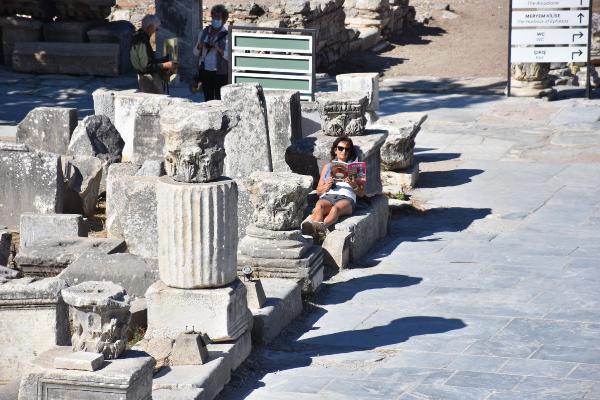 Efes'te pandeminin etkisi bitiyor