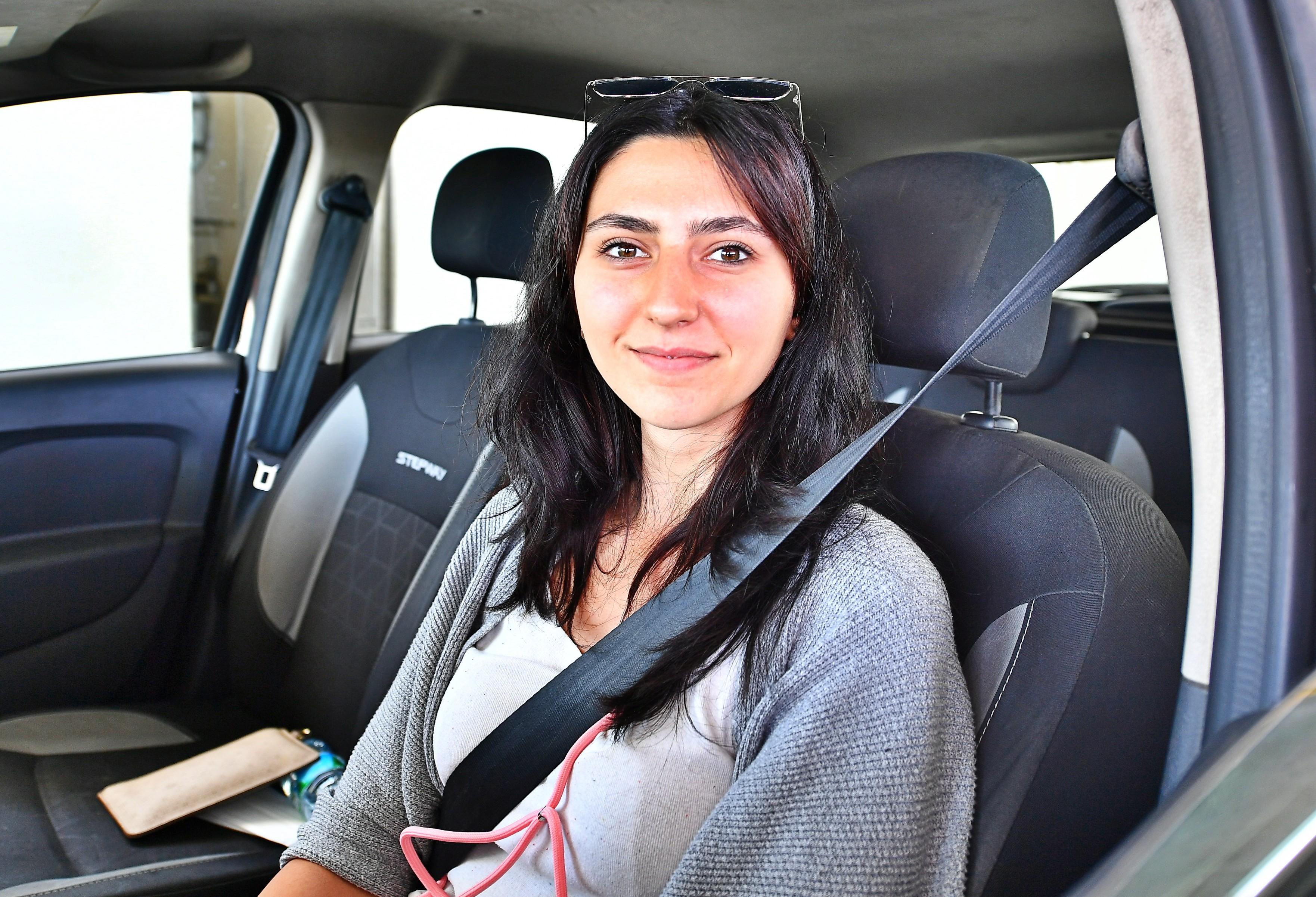 İZDENİZ'in ilk kadın güverte personeli Tuğba Çokoğullu-simay atar