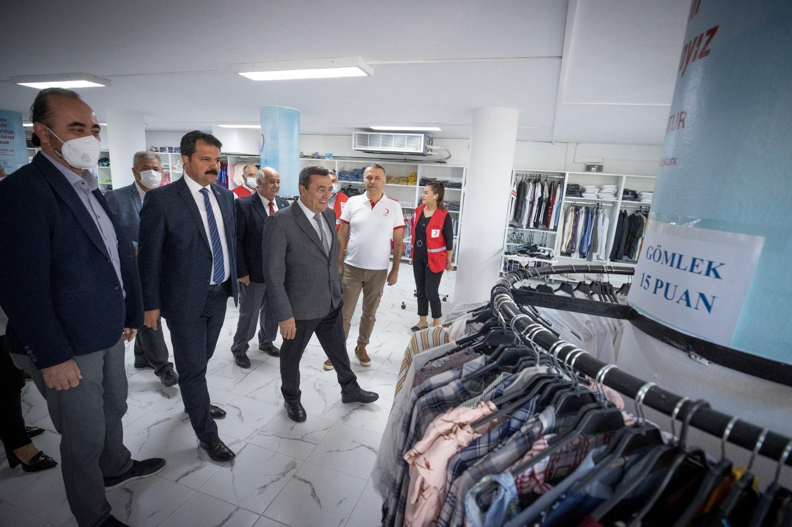Konak Belediyesi Sosyal Destek Merkezi hizmete başladı (12)