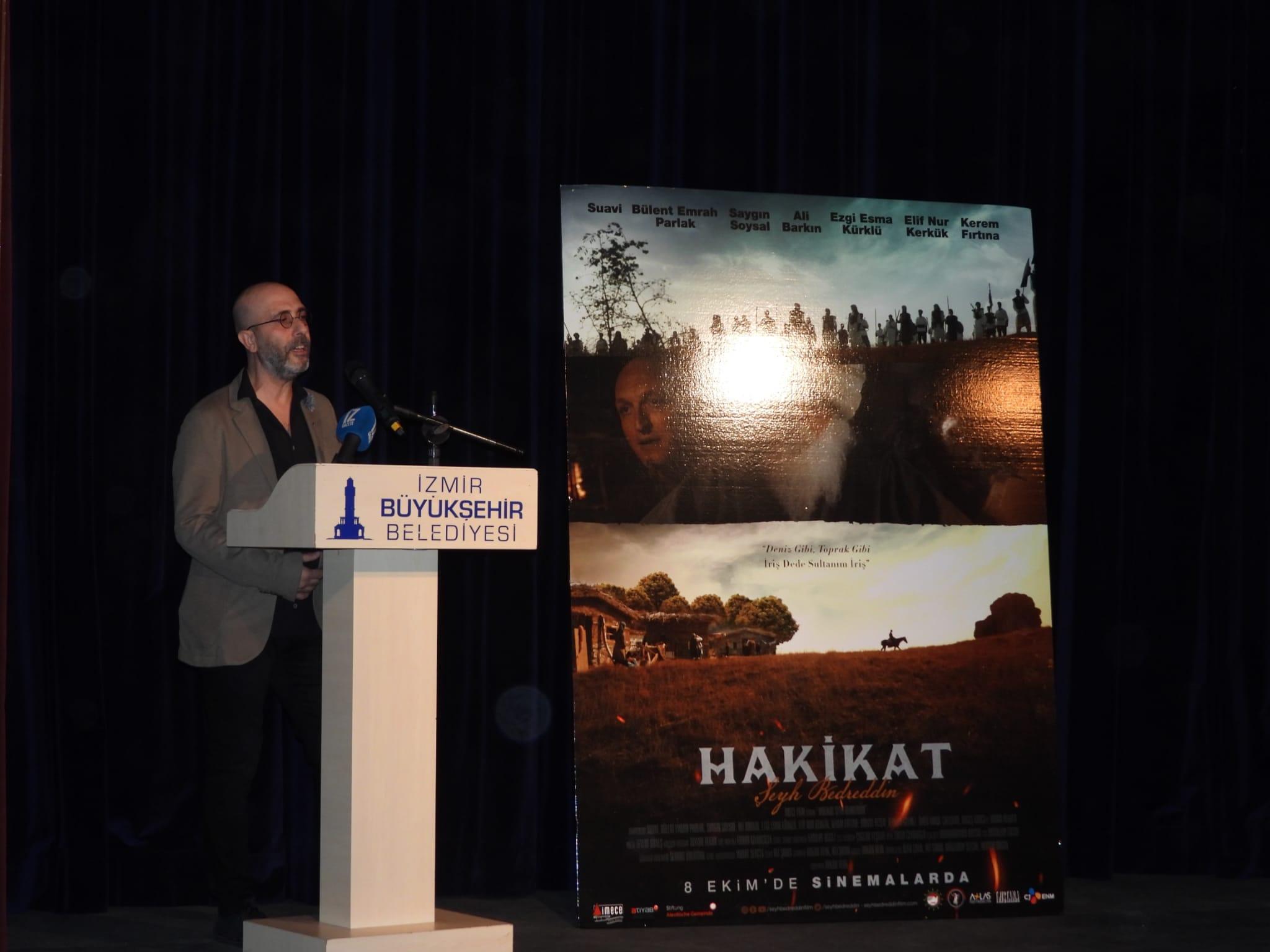 """""""Şeyh Bedreddin"""" filminin galası İzmir'de yapıldı yenigun gazete"""