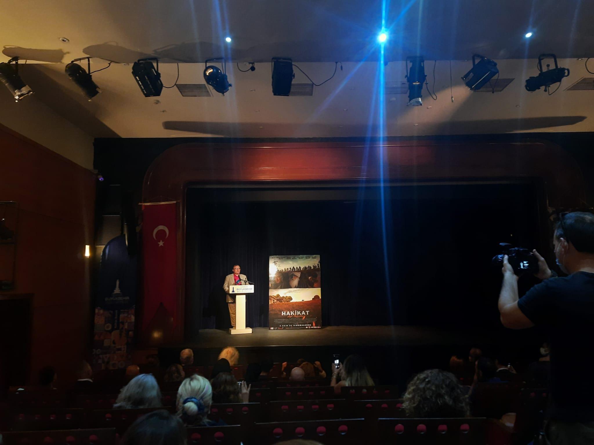 """""""Şeyh Bedreddin"""" filminin galası İzmir'de yapıldı-yenigun"""